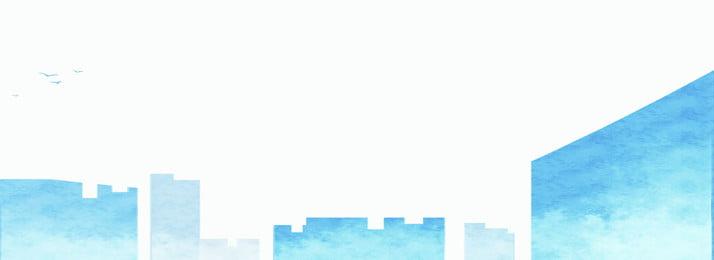 वाटरकलर शैली की पक्षी नीली वास्तुकला ढाल बनावट, आबरंग, क्रमिक परिवर्तन, त्वचा की बनावट पृष्ठभूमि छवि