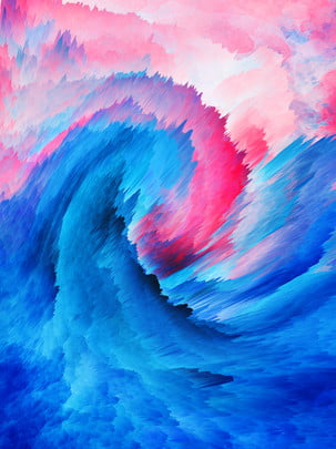 3d Abstract Gradient Swirl Stereo Background, 3d Background, Abstract, Swirl Background, Background image