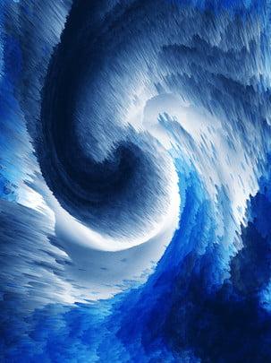 3d抽象漩渦藍色背景 , 3d抽象, 3d漩渦, 藍色 背景圖片