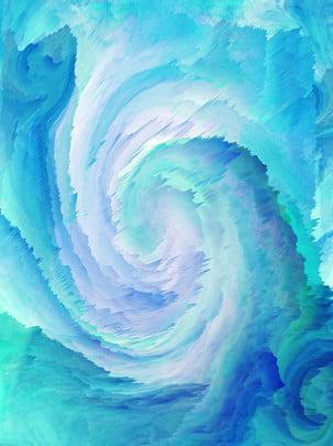 3d冷色漩渦背景 , 青色, 漸變, 3d漩渦 背景圖片