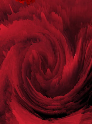 3d coral red swirl background , 3d, Advertising Background, Coral Red Background image