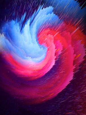 3d swirl abstract red blue gradient background , 3d, Swirl Background, 3d Abstraction Background image