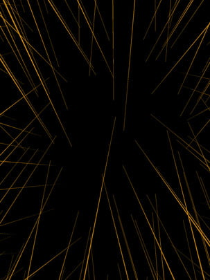 all black gold cool lines technology sense background , Black Gold, Cool, Line Background image