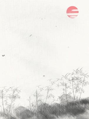 すべての中国風水竹の背景 , レトロ, 竹の背景, インク塗装 背景画像