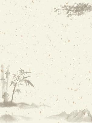すべての中国風水竹の背景 , 竹, 手描き, 芸術的な概念 背景画像