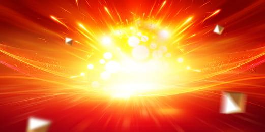 大気爆発の年会bannerの背景図 おめでたい 大気 年会の背景 背景画像
