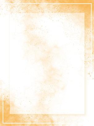 autumn minimalistic splash ink layered border background , Autumn, Deciduous Yellow, Promotional Map Background image