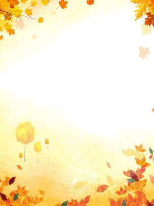 beautiful autumn deciduous background design , Fallen Leaves, Leaves, Maple Leaf Background image