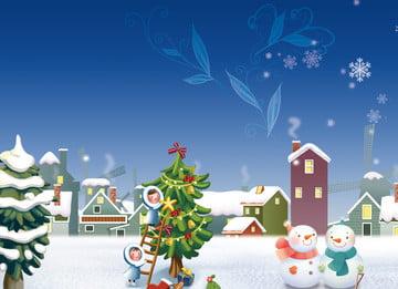 Material Beautiful Christmas 背景画像