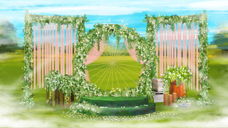 Projeto de plano fundo lindo casamento sonho Linda Sonho Plano Imagem Do Plano De Fundo