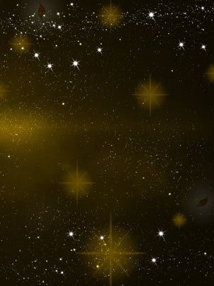 beautiful dreamy golden stars business starry sky background , Golden Starlight, Star, Business Background Background image