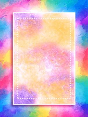 Blühender werbungshintergrund des schönen steigungsaquarells Ästhetischer Werbehintergrund Gouache Hintergrundbild