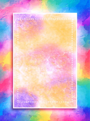 latar belakang kecerunan air bunga mekar yang indah , Latar Belakang Pengiklanan Estetik, Latar Belakang Gradien Gouache, Watercolor Blooming imej latar belakang