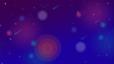 beautiful meteor background material, Meteor Shower, Beautiful, Dream Background image