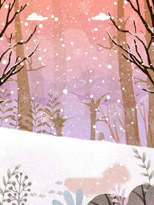 Phong cảnh lễ hội tuyết đẹp lãng mạn Thuật Ngữ Năng Hình Nền