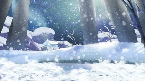 美しい雪の風景、冬祭り、背景素材 美しい 雪のシーン ウッズ 冬の季節 24ソーラーターム ? バックグラウンド 立立背景 背景素材 広告背景素材 美しい 雪のシーン ウッズ 背景画像