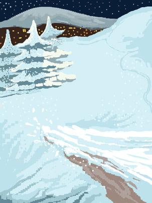 Chất liệu tuyết giáng sinh mùa đông tuyệt đẹp Đẹp Tuyết Mùa Hình Nền