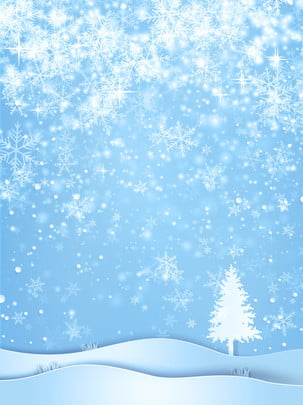 Beautiful Winter Snow And Snow Background Snowflake,background,blue Background,beautiful Background,beautiful,beautiful, Snowflake, Background, Fresh, Background image