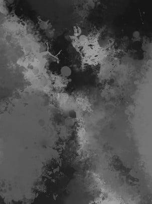 काले और सफेद ग्रे वाटर कलर पृष्ठभूमि , काला और सफेद, आबरंग, पृष्ठभूमि पृष्ठभूमि छवि