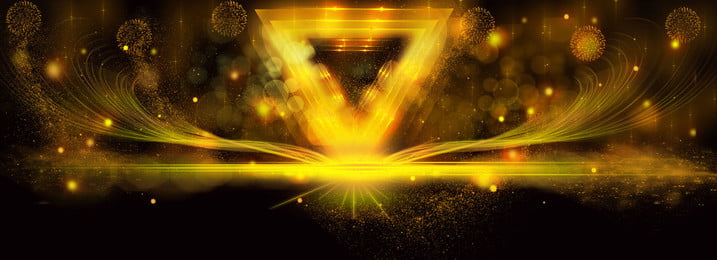black gold atmospheric festival background material, Black Gold Atmosphere, Festive Black Gold, Black Gold Background Material Background image