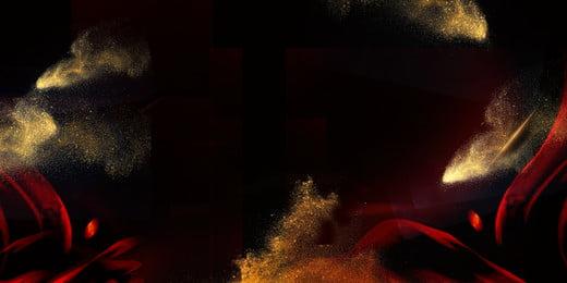 Ouro preto atmosférico flâmulas fundo de areia Fundo De Publicidade Imagem Do Plano De Fundo