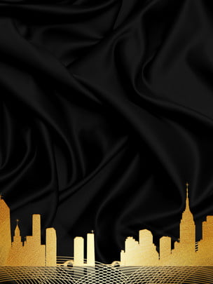 ब्लैक गोल्ड रियल एस्टेट पार्टी पृष्ठभूमि सामग्री , काले सोने की पृष्ठभूमि, इमारत, काले सोने की पार्टी की पृष्ठभूमि पृष्ठभूमि छवि