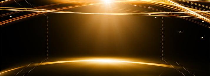 काले सोने की तकनीक सरल प्रकाश छाया पृष्ठभूमि टेम्पलेट, विज्ञान और प्रौद्योगिकी, सरल, प्रकाश और छाया पृष्ठभूमि छवि