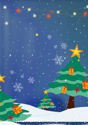 Màu xanh cây Giáng sinh nền bài hát chủ đề Giáng sinh tuyết Thăng Giáng Sinh Hình Nền