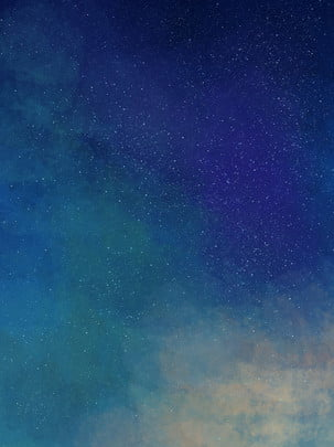 Azul céu sonhador noite gradiente estrelado fundo bonito Fundo Azul Céu Imagem Do Plano De Fundo