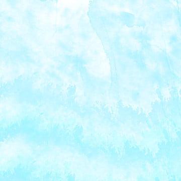 fundo simples aquarela de intenção floresta azul , Forest, Aquarela, Mancha De água Imagem de fundo