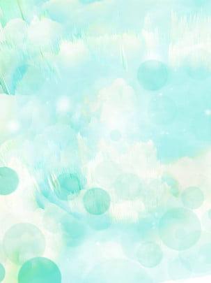 藍色漸變夢幻光斑背景 , 藍色光斑, 唯美背景, 藍色背景 背景圖片