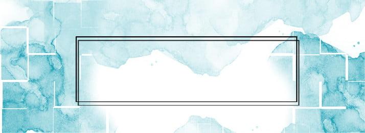 Ejemplo azul del fondo de la bandera de la frontera de la acuarela de la pendiente Azul Gradiente Hermoso Simple Acuarela Frontera Imagen de fondo Literario Fresco Ejemplo Azul Del Imagen De Fondo