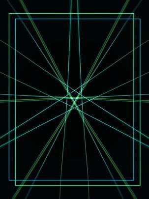 藍綠色漸變簡約光效背景 藍綠色 漸變 鐳射背景圖庫