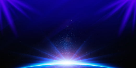 푸른 빛 무대 배경 자료, 무대 배경, 연차 총회 무대, 컨퍼런스 스테이지 배경 배경 이미지