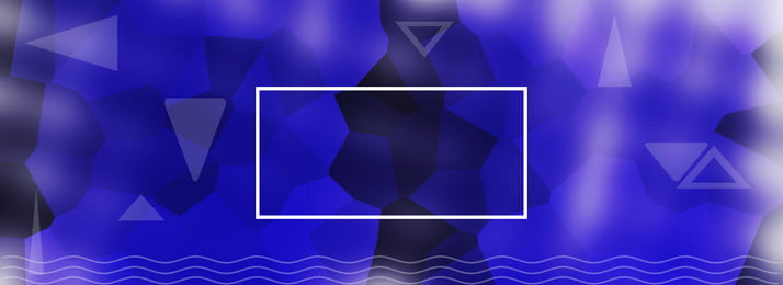 Blue Low Polygon Banner Background Polygon,geometry,banner Background, Blue Low Polygon Banner Background, Polygon, Geometry, Background image