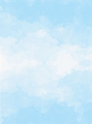 blue sky white clouds splashes of watercolor background , Blue Sky, White Clouds, Blue Sky And White Clouds Background image