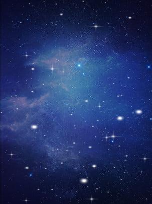 Blue Star Sky Technology Công nghệ nền tối tối Màu xanh Công nghệ Đơn Xanh Mẫu Công Hình Nền