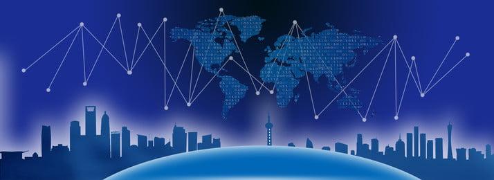 nền khoa học và công nghệ thành phố xanh Hình Học Thành Hình Nền