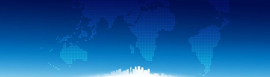 ブルーハイテクスマートシティの背景, テクノロジーシティ, スマートシティ, バックグラウンド 背景画像