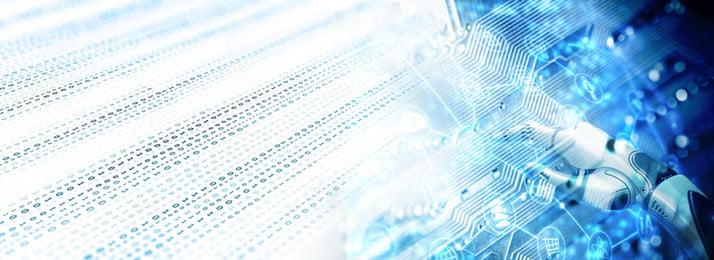 Công nghệ xanh thông minh nhân tạo banner vật liệu nền mát Nền màu xanh Bối Tuệ Xanh Bối Hình Nền