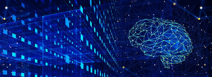 Công nghệ màu xanh ánh sáng trí tuệ nhân tạo mát mẻ vật liệu nền banner Nền Màu Xanh Hình Nền