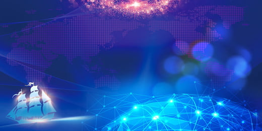 blue technology wind party meeting annuale design di sfondo, Blu, Scienza E Tecnologia, Sfondo Immagine di sfondo