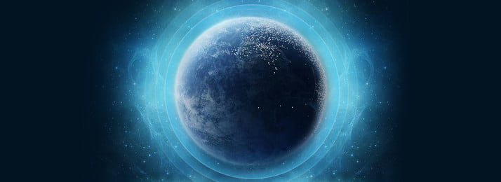 Blue technology world planet sci fi background, Blue Background, Technology Background, World Background Background image