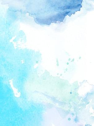 水色伝統水墨の背景 , 伝統, アイデア, 墨の点 背景画像