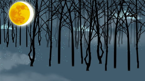 アニメの森の夜の背景デザイン Pspd背景 アニメ アニメーションの背景 背景画像