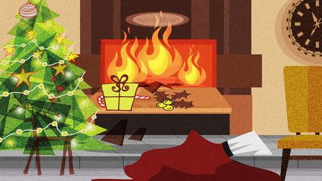 漫画冬クリスマスインテリアイラスト背景 クリスマスポスター メリークリスマス クリスマスカーニバル クリスマスツリー お正月 クリスマスの要素 ダブルエッグカーニバル インテリアイラストの背景 クリスマスポスター メリークリスマス クリスマスカーニバル 背景画像
