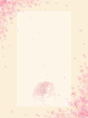 桜、ベージュ、ピンクの背景、桜 , さくら, 桜の花の背景, ピンクの背景 背景画像