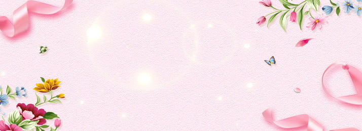 chinese style pink floral pattern background, Transparent Bubble, Chinese Style, Ribbon Background image