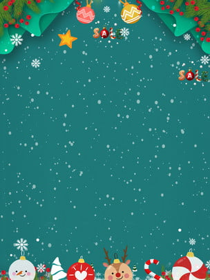 Natal europeu fundo em a neve Natal Elementos Material Imagem Do Plano De Fundo
