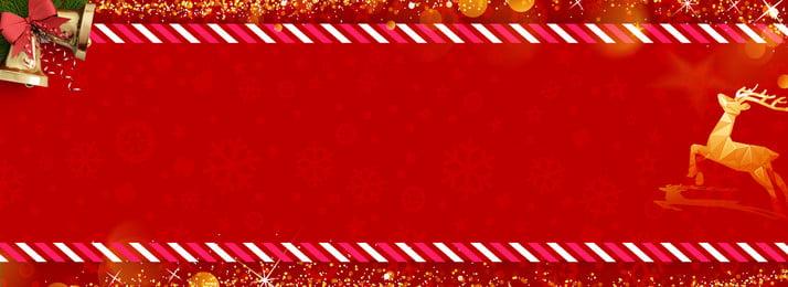 크리스마스 빨간색 축제 사슴 배너 배경, 크리스마스, 크리스마스 배경, 크리스마스 사슴 배경 이미지